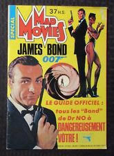 1985 MAD MOVIES French Magazine #37 FN- 5.5 James Bond DR NO