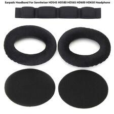 Ohrpolster Pads Kissen Haltebügel für Sennheiser HD545 HD580 Kopfhörer HD600 ER