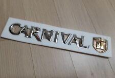 Premium   Genuine KIA CARNIVAL 3D emblem....Sydney stock