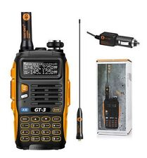 Baofeng GT-3 Mark II VHF/UHF FM Ham Two-way Radio Walkie Talkie