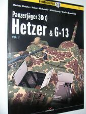 Kagero Photosniper 14 - Panzerjager 38(t) Hetzer & G-13 - Vol 1         Book