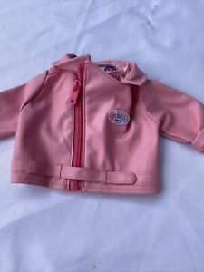 Baby Born Dolls Coat Biker Type Jacket  Zapf