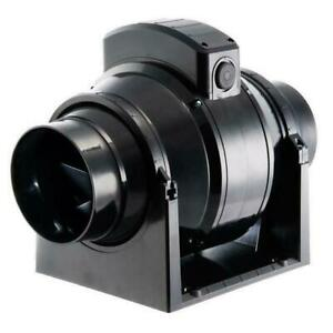 """Manrose MF100T MixFlo Commercial Timer In-Duct Extractor Fan 100mm (4"""")"""