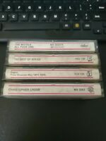 Lot Of 4 Vintage Columbia House Rock Cassettes - The...