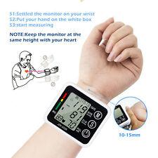 99 Memory Automatic Blood Pressure Monitor Digital Wrist Meter Intelligent 2018