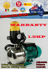 1.2HP Stainless Steel Automatic Rain Water Constant Pressure Tank Pump