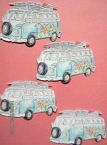 New: 12 x Tattered Lace : Campervan Charisma Die Cuts