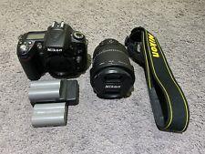 LIKE NEW Nikon D90 Digital SLR Camera w/ Nikkor 18-105mm