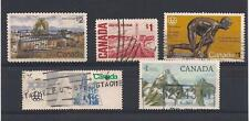 CDN20-004 Nice lot of used canadian high face value stamps.