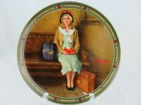 1985 Norman Rockwell A Young Girl's Dream 1st Issue Collector Plate #6875 Signed