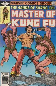 Master of Kung Fu #81. Oct 1979. Marvel. FN.