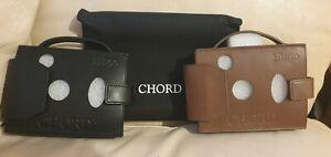 Brand New Chord Hugo original Case Leather. Black&brown colour! Buy 1 get 1 free