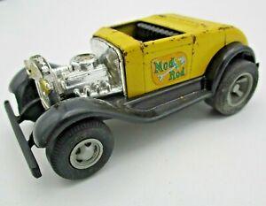 "Vintage 1970s Tonka Car - ""Mod Rod"" Hot Rod car Yellow and Black, 4½"" Long"