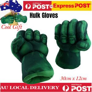 The Incredible Cosplay Hulk Gloves Smash Hands Boxing Fist Punching Xmas Gifts