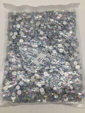 3000 Crystal Flat Back Acrylic Rhinestones Gems Diamond Wedding Party Table 8mm