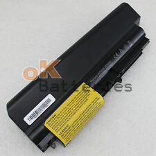 "9Cell Battery fr IBM Lenovo ThinkPad T60 T61 T61p T61u 14.1"" widescreen R61 T400"