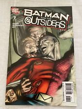 Batman And The Outsiders #7 Vol 2 (DC, 2008) VF