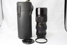 **As Is**Konica UC zoom Hexanon AR 80-200mm f/4 Lens w/Case #H012c