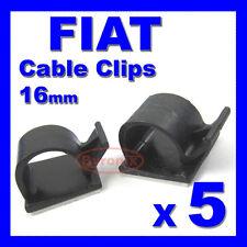 FIAT Autoadesivo Cavo Clip CABLAGGIO FILI GUAINA CABLAGGIO 16mm Holder Clamp