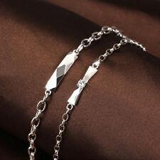 Lover Couple Bracelets Crystal Stone Women's Men's Wristband Bracelet Gift