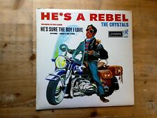The Crystals He's A Rebel 1963 1K/1K Very Good Vinyl Record HA 8120 MONO