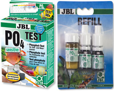 JBL Phosphate PO4 Liquid Test Kit & Refill Fish Tank Garden Pond Algae Control