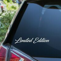 Limited Edition Auto Aufkleber Tuning Sticker Lowered Static Autoaufkleber