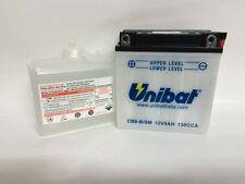 CB9-B/SM BATTERIA MOTO UNIBAT 9 AH 130 A (EN) - COD. YUASA YB9-B