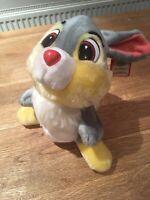 Vintage 1986 Disneyland Walt Disney World Thumper Bambi Soft Toy Plush Rabbit