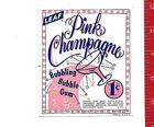 Vintage Vending Machine Display 1c Leaf Pink Champagne Gum Card