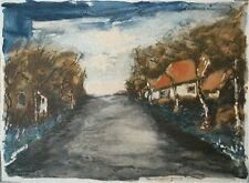 Maurice Vlaminck Original Lithograph Country Road Limited Edition 1957