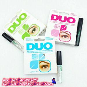 DUO Brush on eyelash Striplash Adhesive False Lash Strong Glue White/Clear/Black