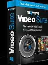 Movavi Video Suite 16,Create enhance movies,effects,youtube 10s formats &devices