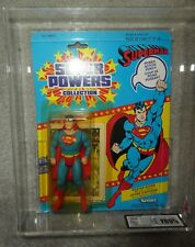 DC COMICS SUPERPOWERS Graded Superman 85% figure 12 back kenner Canadian