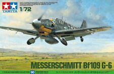 Tamiya 60790 1/72 Scale Aircraft Model Kit WWII German Messerschmitt Bf109 G-6