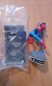 "Attacktix Marvel Action Figure ""Spider-Man"" Silver Base - VHTF Spring Action"