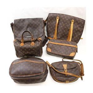 Louis Vuitton Monogram Shoulder Bag Hand Bag Clutch 6pc set Speedy 25 523959