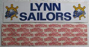 Two circa 1980 Lynn Sailors Bumper Stickers (Minor League Baseball Team) Ma.