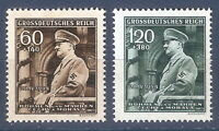 DR Nazi 3rd Reich Rare WW2 Stamp Hitler in Car Salutes Military Parade in Prague