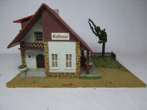 """TEMOS Modell """"Gasthof """" DDR 60er Jahre -  Holz - sehr gut !  Haus / Gebäude"""