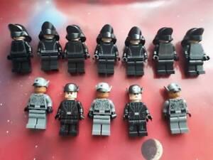 STAR WARS Mini figures: 12 x First Order Officers & Crew Members