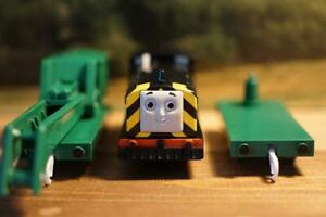 Thomas & Friends Salty Brendom Diesel Engines TOMY Plarail Discontinued Motor OK