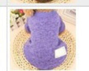 Classic Small Dog Clothes Pet Puppy Warm Vest Fleece Cat Apparel 12 Colors S-XXL