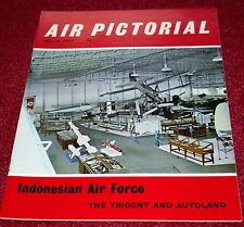 Air Pictorial 1967 March Trident,Indonesian Air Force