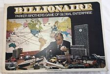 Vintage 1973 Parker Brothers Billionaire Board Game.Missing Movers