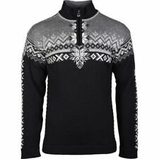 NEW!! 2020 Mens Dale of Norway 140th Anniversary Sweater-L-Black/Smoke