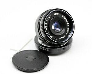 Creative Triplet 69-3 4/40mm Custom made for M39 L39 Canon EOS-M Mirrorless IW10