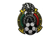 MEXICO FEDERACION MEXICANA DE FUTBOL ASOC. Embroidered Iron-On PATCH CREST BADGE