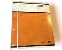 Case 580B Loader Backhoe Service Shop Manual Stock # 5E
