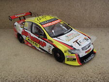 NEW SIGNED RUSSELL INGALL 2009 SUPERCHEAP RACING VE COMMODORE 1:18 CLASSIC CAR